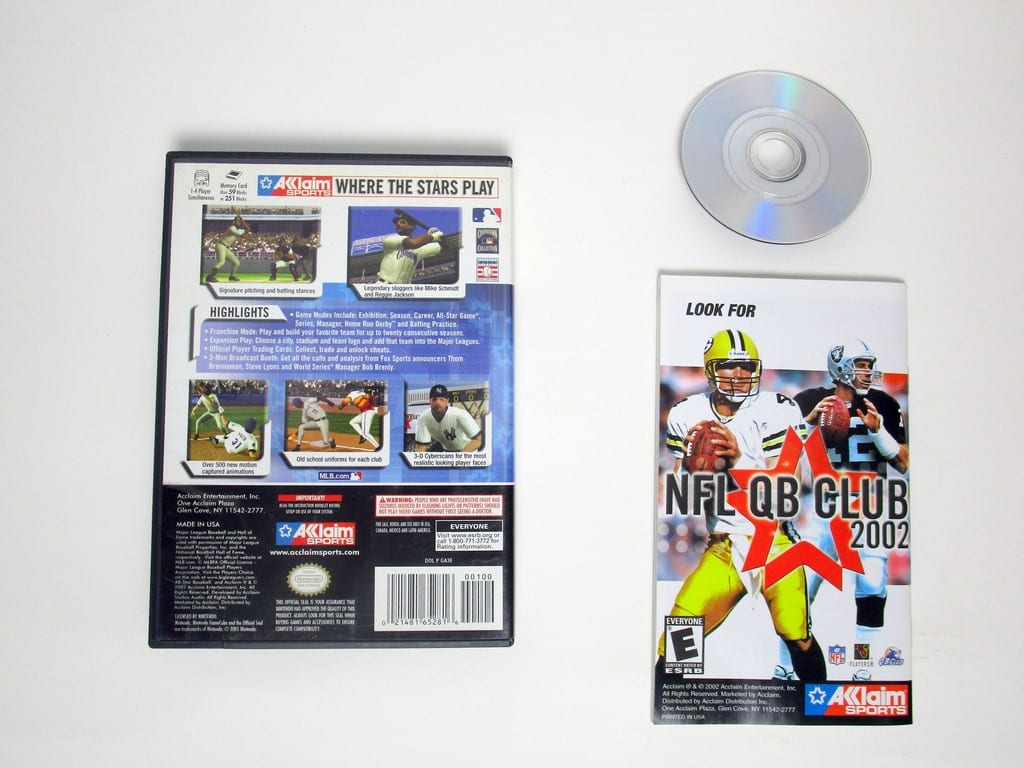 All-Star Baseball 2003 game for Gamecube (Complete) | The Game Guy