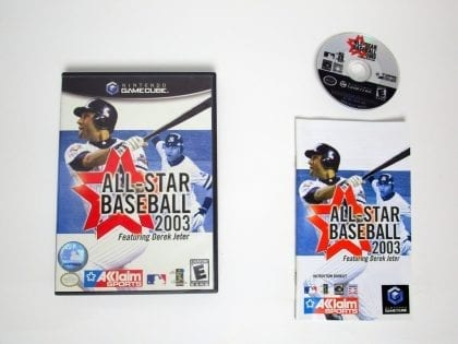 All-Star Baseball 2003 game for Nintendo Gamecube -Complete