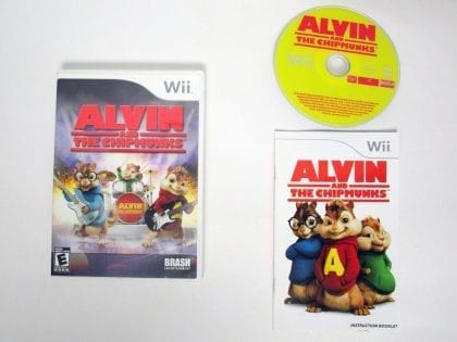 Alvin And The Chipmunks The Game game for Nintendo Wii -Complete