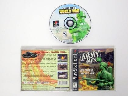 Army Men 3D game for Sony Playstation PS1 PSX -Complete