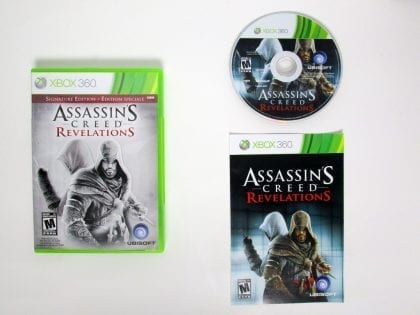 Assassin's Creed Revelations Signature Edition game for Xbox 360 Complete