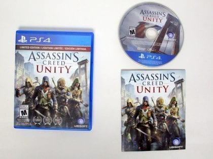 Assassin's Creed: Unity game for Sony Playstation 4 PS4 -Complete
