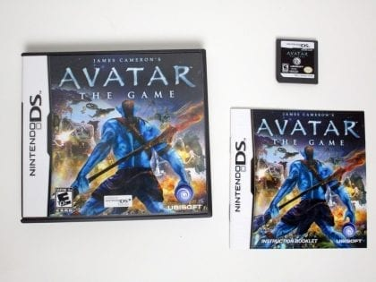 Avatar: The Game game for Nintendo DS -Complete