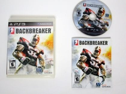 Backbreaker game for Sony Playstation 3 PS3 -Complete