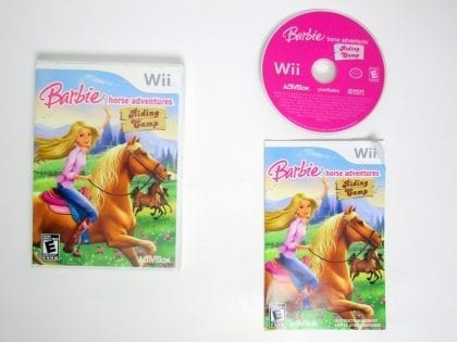 Barbie Horse Adventures: Riding Camp game for Nintendo Wii -Complete