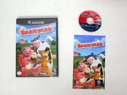 Barnyard game for Nintendo Gamecube -Complete
