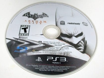 Batman: Arkham City game for Sony Playstation 3 PS3 - Loose