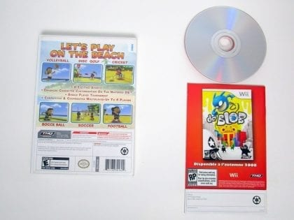 Big Beach Sports game for Wii (Complete)   The Game Guy