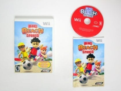 Big Beach Sports game for Nintendo Wii -Complete