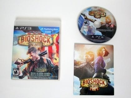 BioShock Infinite game for Sony Playstation 3 PS3 -Complete