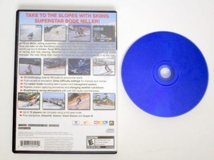 Bode Miller Alpine Skiing game for Playstation 2   The Game Guy