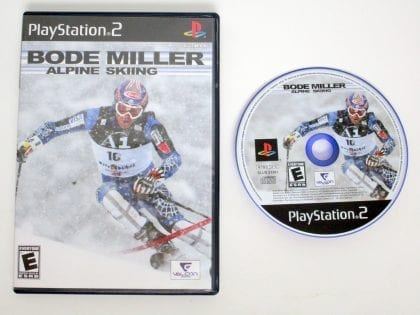 Bode Miller Alpine Skiing game for Sony Playstation 2 PS2 -Game & Case