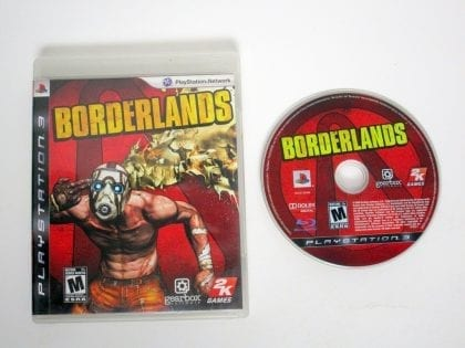 Borderlands game for Sony Playstation 3 PS3 -Game & Case