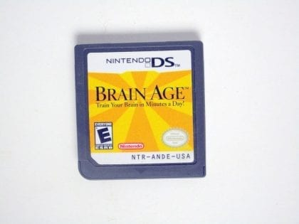 Brain Age game for Nintendo DS - Loose