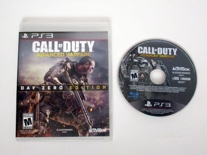 Call of Duty: Advanced Warfare Day One game for Sony Playstation 3 PS3 Game&Case
