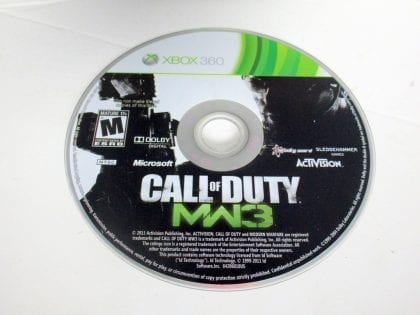 Call of Duty: Modern Warfare 3 game for Microsoft Xbox 360 - Loose