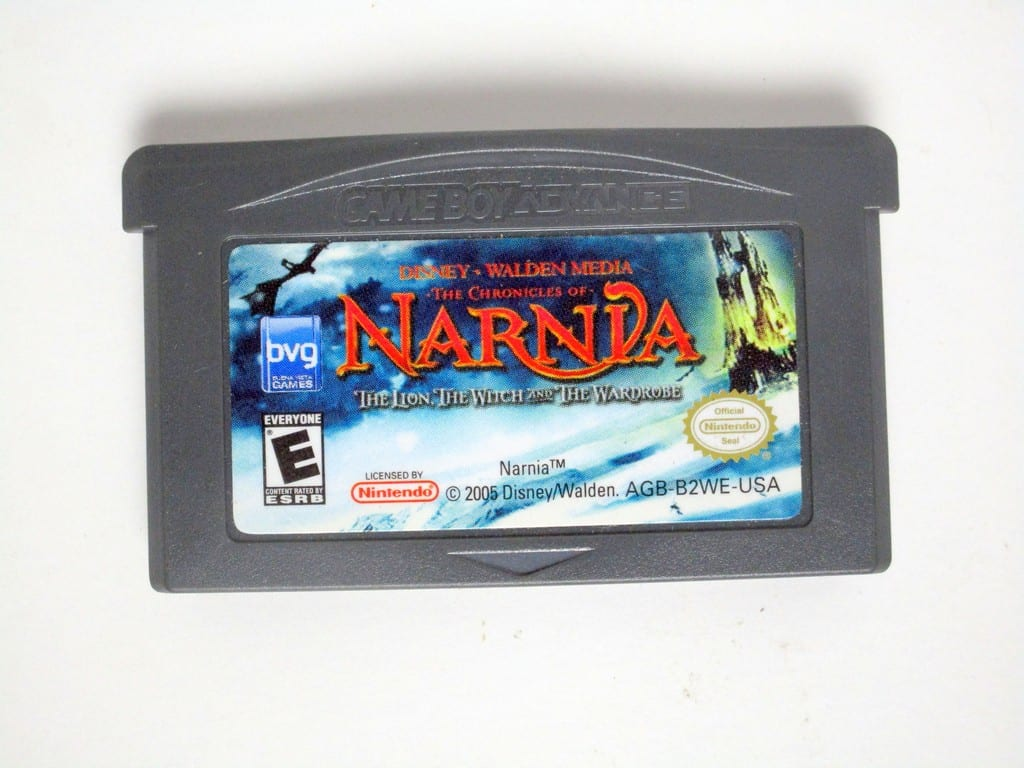 Chronicles of Narnia Lion Witch and the Wardrobe game for Gameboy GBA - Loose