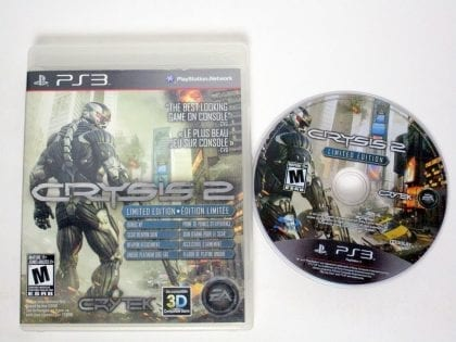 Crysis 2: Limited Edition game for Sony Playstation 3 PS3 -Game & Case