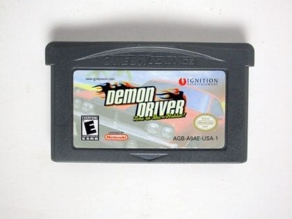 Demon Driver game for Nintendo Gameboy Advance - Loose