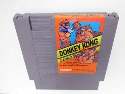 Donkey Kong Classics game for Nintendo NES - Loose