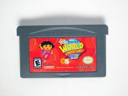 Dora The Explorer Dora's World Adventure game for Nintendo Gameboy GBA - Loose