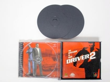 Driver 2 game for Playstation (Complete)   The Game Guy