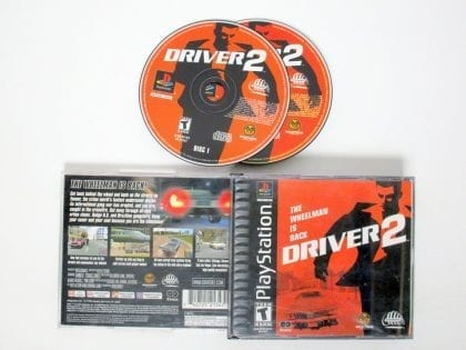 Driver 2 game for Sony Playstation PS1 PSX -Complete