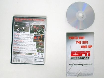 ESPN Football 2005 game for Playstation 2 (Complete) | The Game Guy
