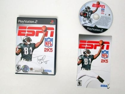 ESPN Football 2005 game for Sony Playstation 2 PS2 -Complete