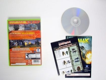End War game for Xbox 360 (Complete)   The Game Guy