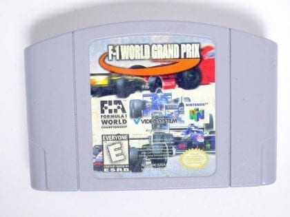 F-1 World Grand Prix game for Nintendo 64 N64 - Loose