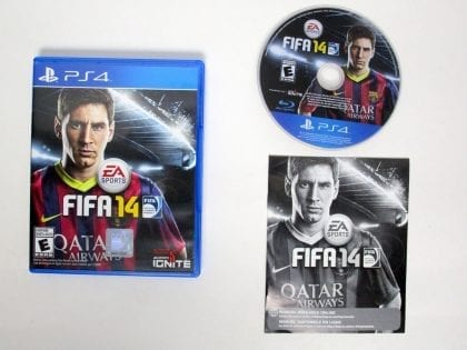 FIFA 14 game for Sony Playstation 4 PS4 -Complete
