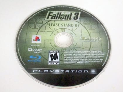 Fallout 3 game for Sony Playstation 3 PS3 - Loose