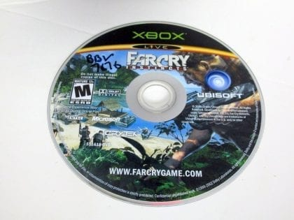 Far Cry Instincts game for Microsoft Xbox - Loose