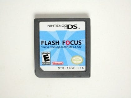 Flash Focus Vision Training game for Nintendo DS - Loose