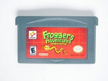 Froggers Adventures Temple of Frog game for Nintendo Gameboy Advance - Loose