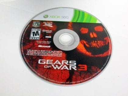 Gears of War 3 game for Microsoft Xbox 360 - Loose
