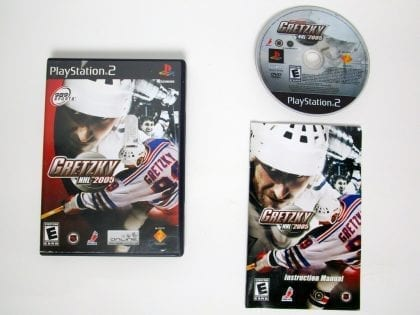 Gretzky NHL 2005 game for Sony Playstation 2 PS2 -Complete