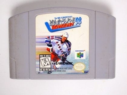 Gretzky's 3D Hockey game for Nintendo 64 N64 - Loose