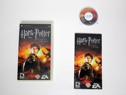 Harry Potter and the Goblet of Fire game for Sony PSP -Complete