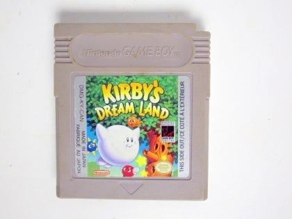 Kirby's Dream Land game for Nintendo GameBoy - Loose