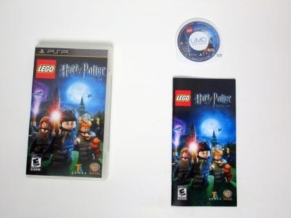 LEGO Harry Potter: Years 1-4 game for Sony PSP -Complete