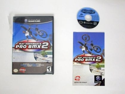 Mat Hoffman's Pro BMX 2 game for Nintendo Gamecube -Complete