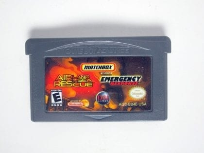 Matchbox Missions Air Land & Sea Rescue/Emergency Response Gameboy GBA - Loose