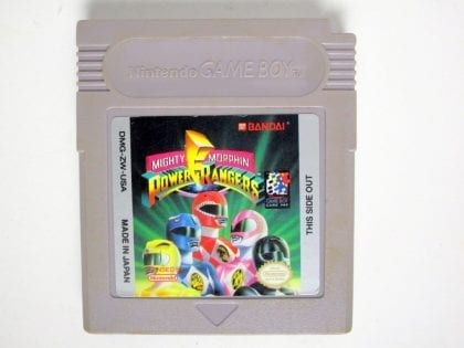 Mighty Morphin Power Rangers game for Nintendo GameBoy - Loose