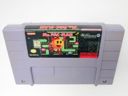 Ms. Pac-Man game for Super Nintendo SNES - Loose