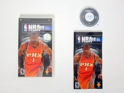 NBA 08 game for Sony PSP -Complete