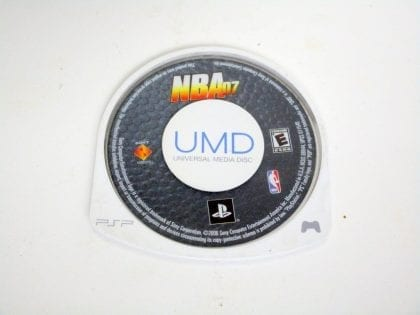 NBA 2007 game for Sony PSP - Loose
