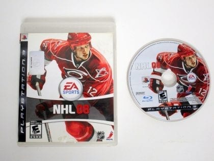 NHL 08 game for Sony Playstation 3 PS3 -Game & Case