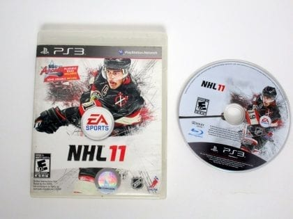 NHL 11 game for Sony Playstation 3 PS3 -Game & Case